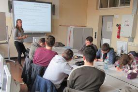 Eine Prüfungsvorbereitung der besonderen Art an der Max-Taut-Schule
