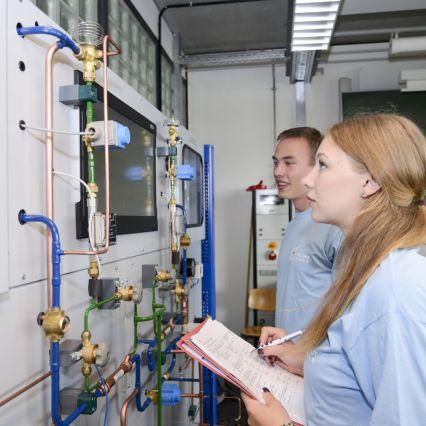 Mechatroniker für Kältetechnik an der Max-Taut-Schule